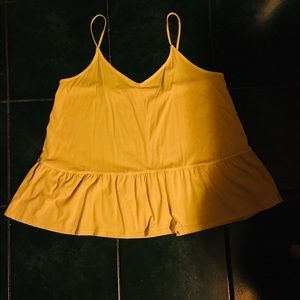 Woman's tank, with swing bottom, size XL